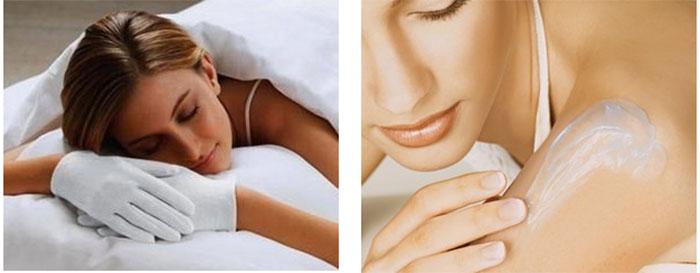 Восстановление кожи ночью