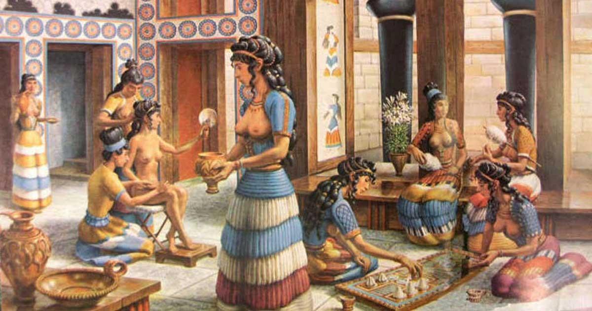 эпиляция в древней Греции