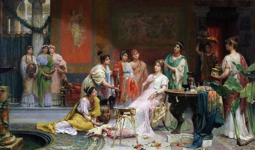 Эпиляция в древнем Риме