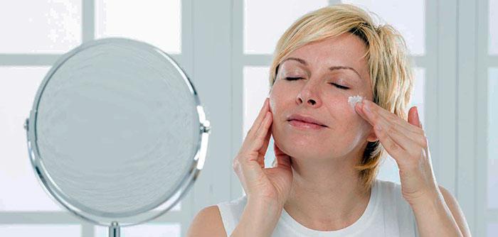 Уход за кожей лица в 45 — 50 лет