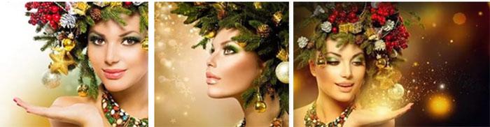 Салон красоты перед новым годом